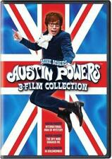 Austin Powers 1-3 Collection Dvd Mike Myers (Dvd, 2011, 2-Disc Set) New
