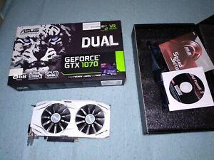 Asus Nvidia GeForce GTX 1070 Dual 8GB GDDR5 90YV09T4-M0NA00