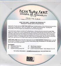 LESS THAN JAKE GOODBYE, MR PERSONALITY RARE 1 TRACK PROMO CD