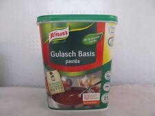 KNORR Gulasch Basis pastös 1,3 Kilo