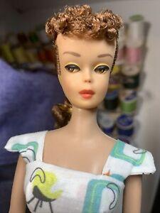 Vintage Ponytail Barbie Doll, 1960s,Titian Redhead OOAK Lolaxs RESTORE MUST SEE*