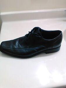 Bostonian Men's Size 13M Wurster Pace Oxford Dress Shoe Black Leather