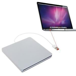 External USB CD DVD RW Drive Enclosure Case for Macbook Pro Air Optical Drive