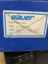 Pro Stock Bauer Supreme 1000 Skates Made For Brett Hull. 9Da