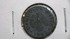 1940 A, GERMANY, 1 PFENNING, WWII ERA COIN 681A9
