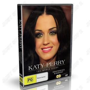 Katy Perry The Whole Story (2-Disc Set) : Brand New DVD