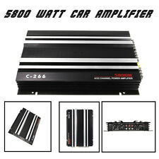 Aluminum C Watt RMS 4/3/2 Channel Powerful Power Stereo Amplifier Amp 4Ohm