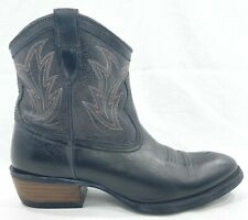 Ariat 10007965 Womens Distressed Gray Billie Cowboy Western Ankle Boots Size 8.5
