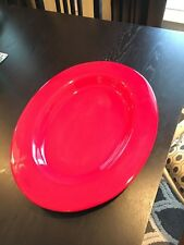 """Pottery Barn serving dish red Large 18""""x15"""" Platter"""