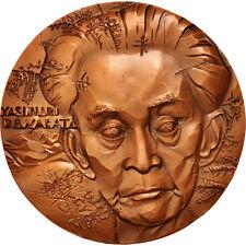 Jetons & Médailles, France, Yasunari Kawabata, Medal, 1969, MS(65-70) #402743