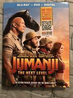 Jumanji: The Next Level Blu-Ray + DVD + Digital *NEW