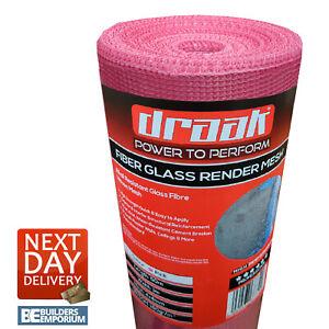 Rendering Render Mesh Fiberglass 160g/m2 50m2 Coverage Plastering Crack Repair