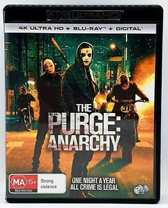 The Purge: Anarchy 4K 2 Disc Ultra HD *4K player and TV Required*