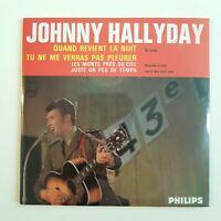 JOHNNY HALLYDAY (AVEC CODE BARRES!) ♦ CD NEUF SOUS BLISTER ♦ QD REVIENT LA NUIT