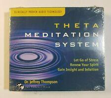 Theta Meditation System  Relaxation Company 2 CD Set  Damaged Seal Wrap