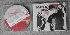 Mando Diao - Mean Street EP - Original UK 4 TRK CD Single - PROMO