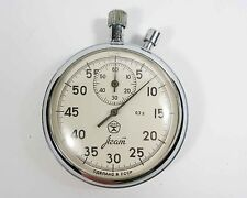 AGAT Russian USSR mechanical STOP WATCH 16 JEWELS (a15)