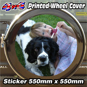 Spare Wheel Cover 4x4 Graphic Sticker YOUR PHOTO PERSONALISED