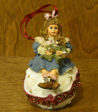 Boyds Dollstone Ornament #25857 Amy & Sam.Baby'S First Xmas From Retail Shop
