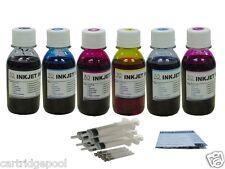 Bulk Ink kit for HP 02 C6150 C8180 D7160 C7250 C7260