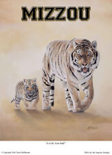 "Mizzou ""Is it My Turn, Dad"" Series 8 x 10 Art Print"