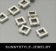 20x tíbet plata metal perlas spacer 10mm ms357
