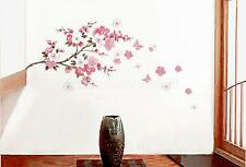 PINK Removable Vinyl Art Quote Peach Blossom Wall Sticker Mural Decal Home Decor
