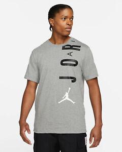 Air Jordan Nike Mens Jumpman Stretch Flight Carbon T-Shirt Size Large Tee NEW