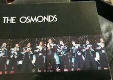 The Osmonds 1976 Tour Concert Program Book Donny Osmond