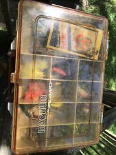 Plano Magnum Tackle Box FullOf Lures Rapala, Blue Fox, Vibrax, And More!