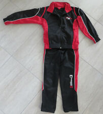 MANGUUN Sportanzug Sportjacke Jacke Hose Trainingsjacke Sporthose Sport Gr.128
