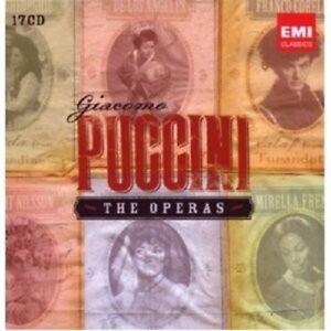 ALAGNA/BERGONZI/PAPPANO/+ - PUCCINI: THE OPERAS 17 CD OPER KLASSIK NEU