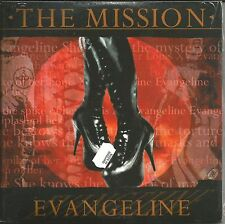 MISSION UK Evangeline 3 UNRELEASED TRX BLUE & RED UK DOUBLE 7 INCH vinyl SEALED