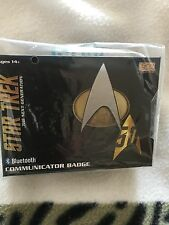 Star trek  next generation series bluetooth   communicator  badge