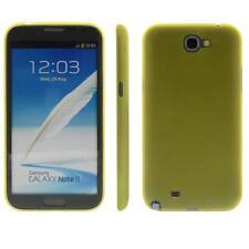 Para Samsung note 2/n7100 funda TPU/cover/bumper funda// color amarillo