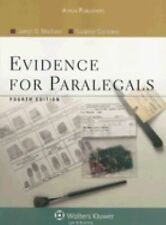 Evidence for Paralegals by Marlowe, Joelyn D.; Cummins, Suzanne