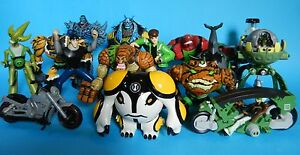 Ben 10 Bandai- CHOICE of Large Action Figures and Vehicles
