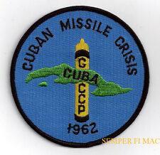 CUBAN MISSILE CRISIS JFK CIA CUBA PATCH US ARMY MARINES NAVY AIR FORCE KENNEDY