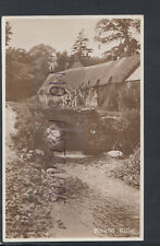 Countryside Postcard - Peaceful Valley - Cottages, Bridge and Stream RS17114