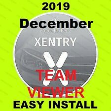 V2019.12 MB SD Pass Thru Software Star OBD2 Diagnosis for MB Xentry TEAMVIEWER