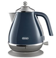 Delonghi KBOC2001BL 1.7L Icona Capitals Kettle with Swivel Base - London Blue