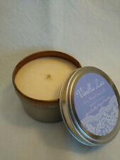Vanilla Scented Soy Candle - 8 oz Travel Tin - Hand Poured - Handmade