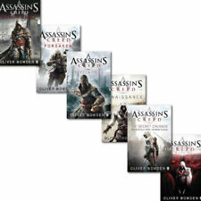 Assassins Creed 6 Books Collection Set By Oliver Bowden, Black Flag,Forsaken