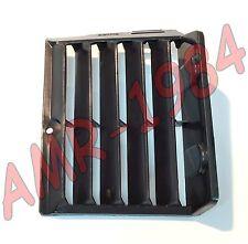RETE PROTEZIONE RADIATORE SX APRILIA ETX 125 1986 IN PLASTICA NERA  AP8130357