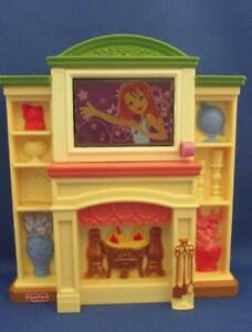 Fisher Price Loving Family Dollhouse Fireplace With Lights & Sounds