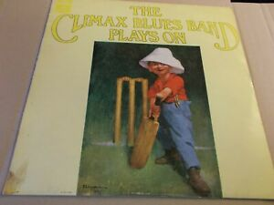 CLIMAX BLUES BAND,PLAYS ON,LP ON PARLOPHONE PCS7084,1969