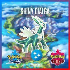 SHINY DIALGA | BRAND NEW DLC CROWN TUNDRA POKEMON SWORD & SHIELD
