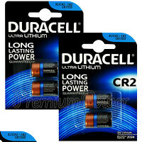 4 x Duracell Ultra Lithium CR2 3V batteries CR17355 EL1CR2 2 in Pack EXP:2024