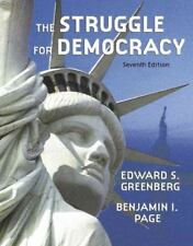 The Struggle for Democracy by Benjamin I. Page and Edward S. Greenberg