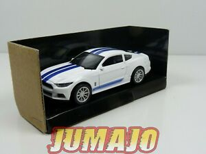 SHE4 voiture 1/43 FORD LEGEND SERIES : Shelby Mustang GT350  2016  White/Blue